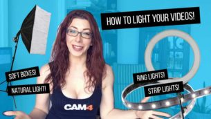 Tutorial: Lighting Equipment w/ Sammy Strips!