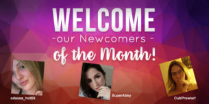 Introducing our CAM4 Newcomers of the Month!