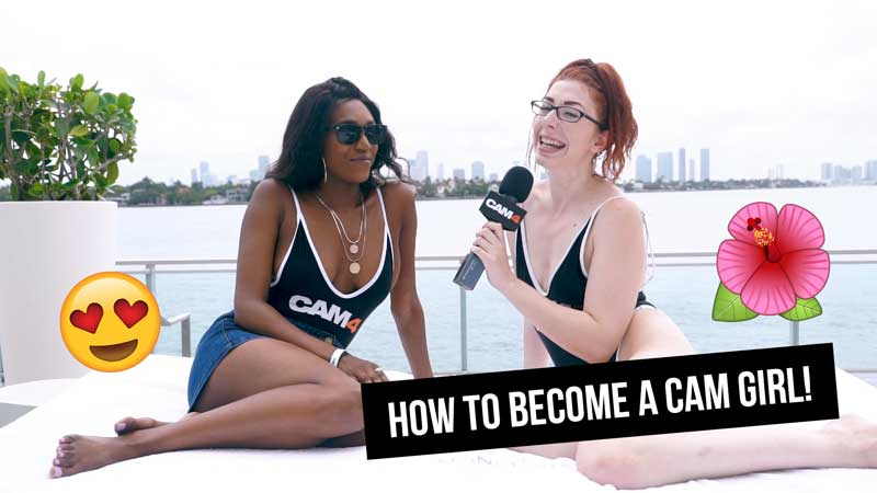 VIDEO: How to Become a Cam Girl