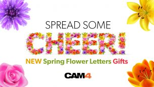 We've added new Spring Flower Letters gifts!